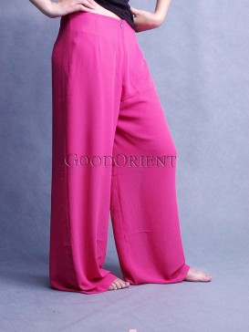 Hot Pink Chiffon Pants