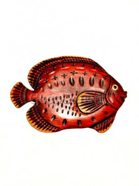 Fancy engraved Gold Fish home decoration