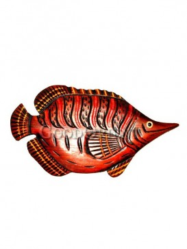 Special sharp mouth engraved Fish home decoration