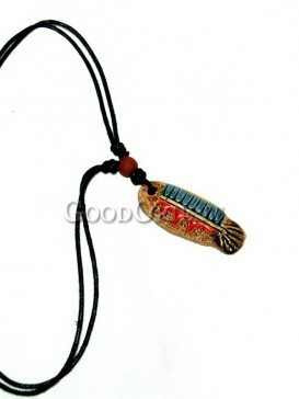 """Romantic Aegean sea Fish necklace - China Dongba Ornaments"""