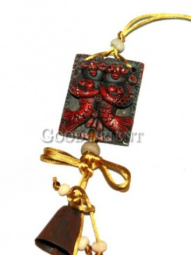 Festive Red Double Fish Decoration - China Dongba Ornaments