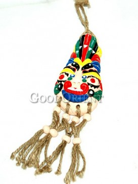 Colorful Doll Face Decoration - China Dongba Ornaments