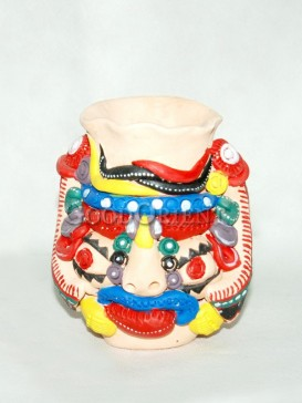 Rich Color Tiger Pen holder - Dongba culture series