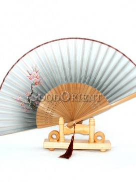 Orange Fan with Tassel Wintersweet