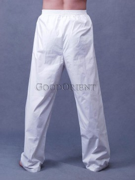 White Kungfu Pants